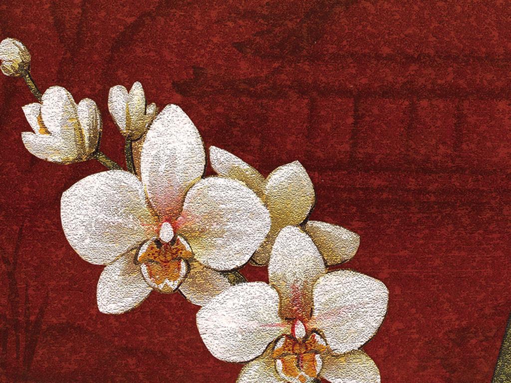 ppt模板花卉花朵花卉背景手绘花卉线描花卉水彩花卉白描花卉花卉油画
