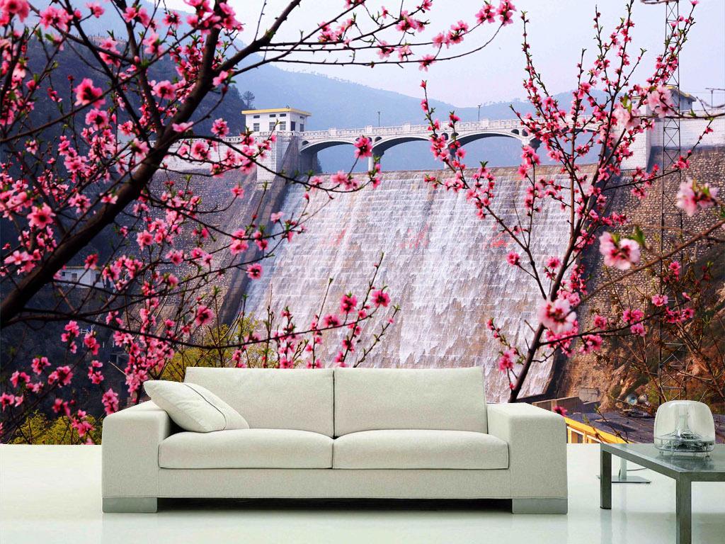 画壁纸墙纸图片桃花林桃花盛开桃花图片桃花背景桃花花瓣桃花盛开的