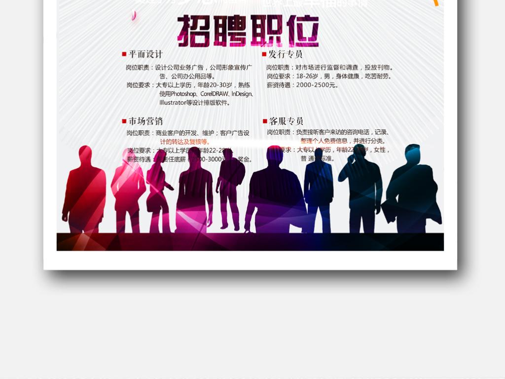 招聘海报国外创意海报创意手绘海报设计感恩节创意海报活动创意海报手
