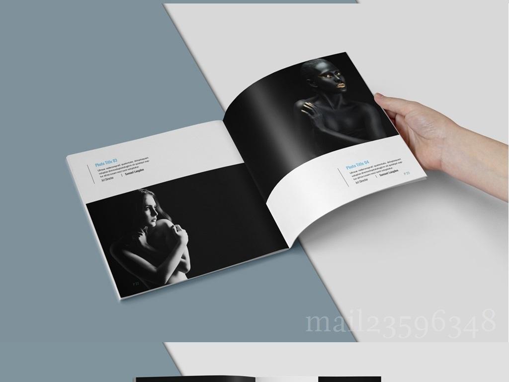 书籍装帧内页产品画册模板图册作品展示摄影黑白黑白建筑摄影黑白人物