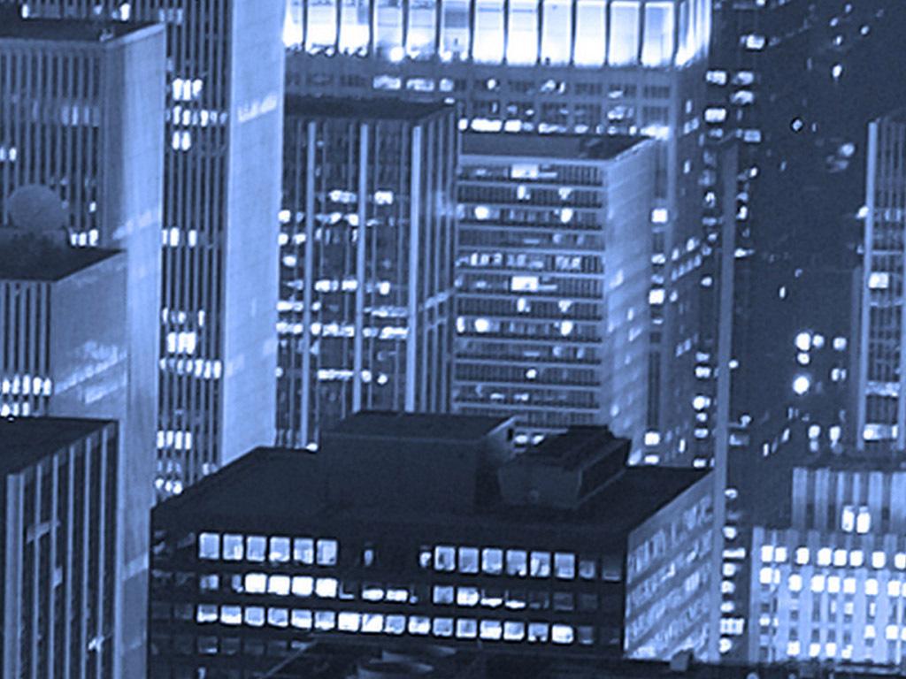 高清纽约曼哈顿时代广场夜景俯瞰背景墙
