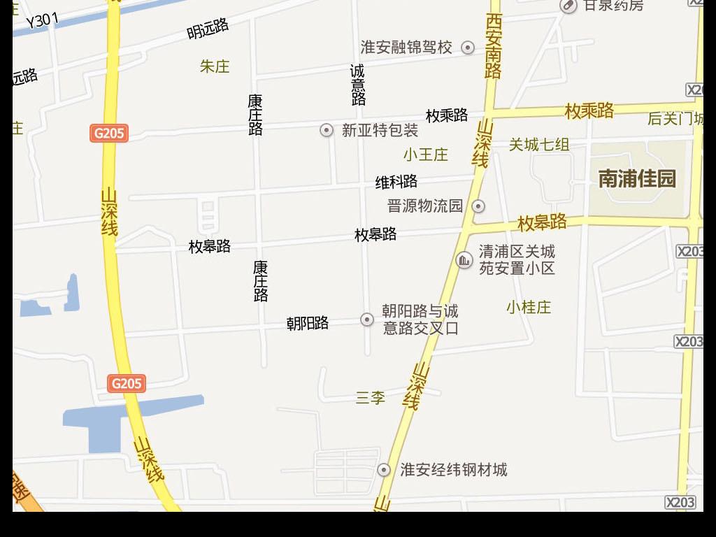 2016淮安市电子地图淮安市地图