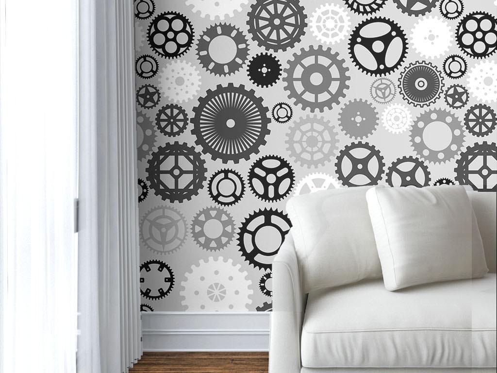 沙发背景墙图片齿轮圆形机械齿轮齿轮图片齿轮类图片