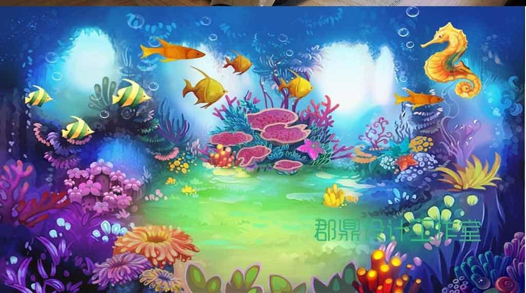 奇幻海底世界海马