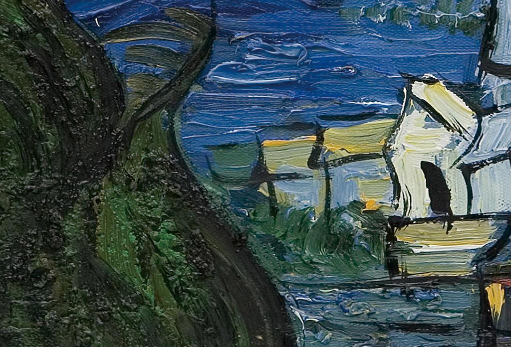 梵高星空油画(图片编号:15698745)_抽象油画 _我图网