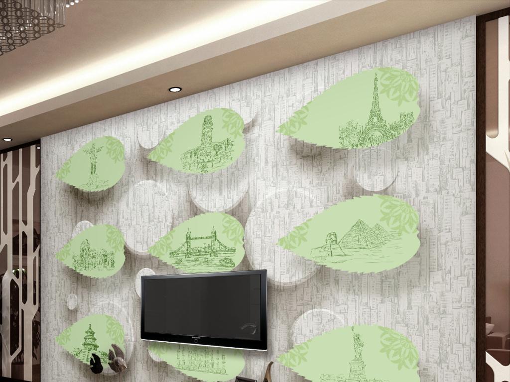 金字塔壁画壁纸墙纸工装家装墙手绘背景墙图片手绘背景墙电视背景墙