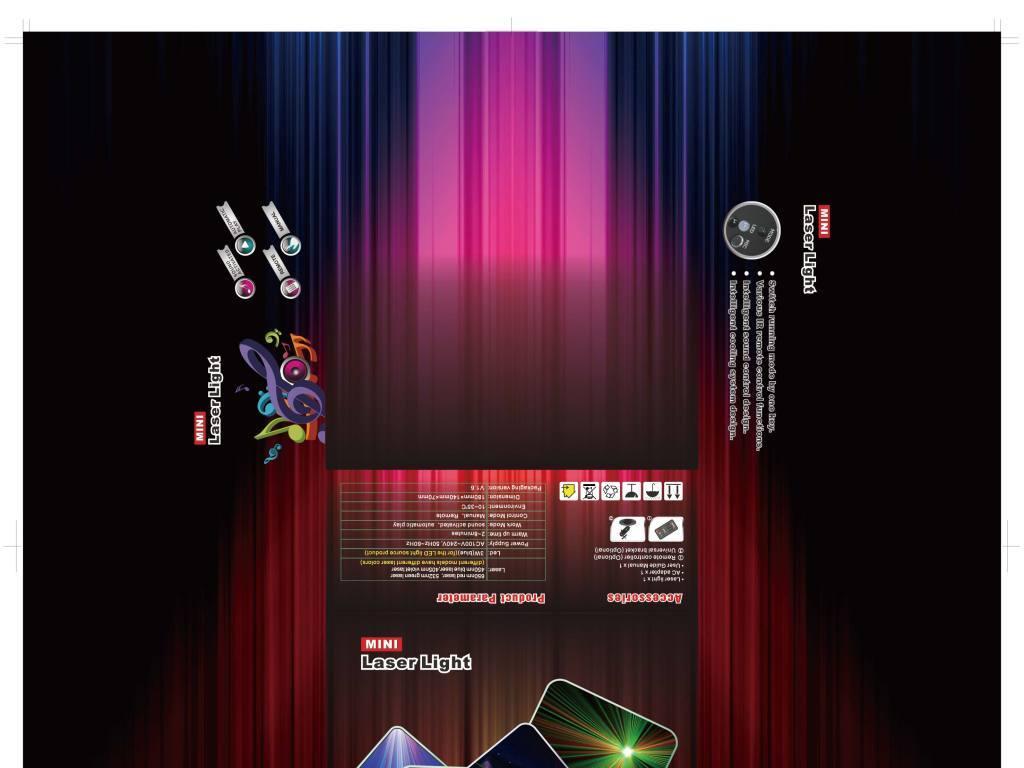 设计作品简介: 舞台灯飞机盒包装设计 矢量图, cmyk格式高清大图,使用
