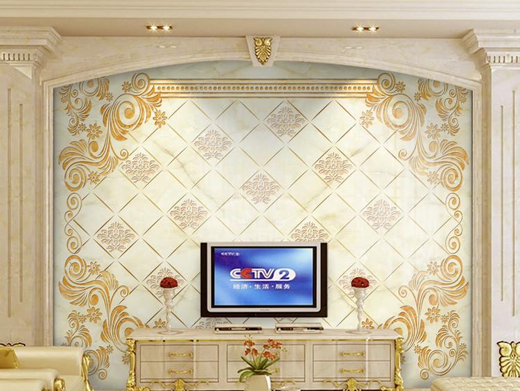 大理石纹电视背景墙阿曼达带路径