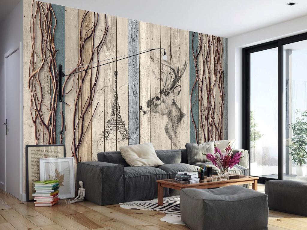 木板形象墙文化墙艺术画3d立体背景墙室内装饰画人物装饰画抽象装饰画