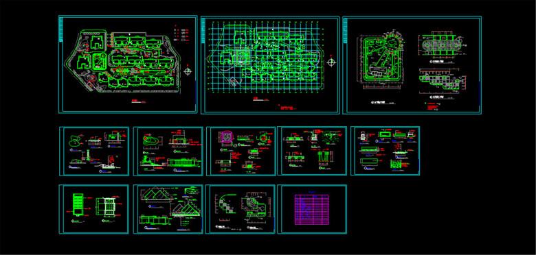 园林景观CAD平面设计图
