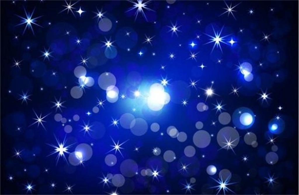 星光闪耀海报背景图