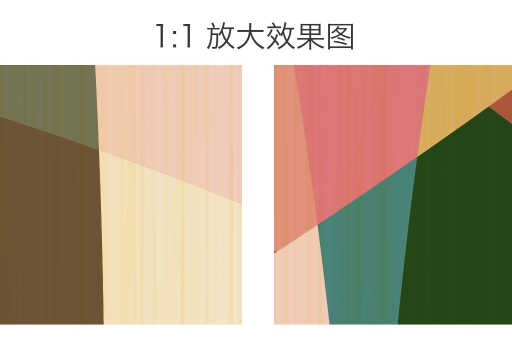 现代简约简单图案手绘抽象几何图形背景墙