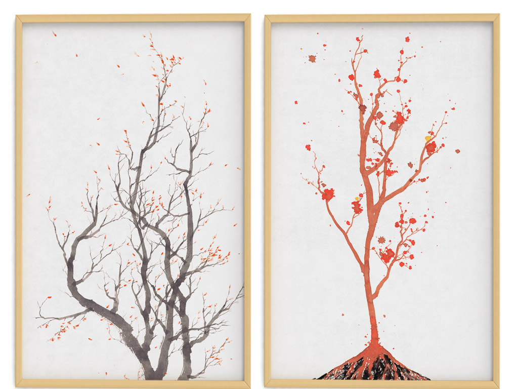 简约中国风装饰画