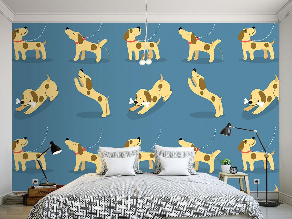 卡通欧式花纹墙纸室内设计室内装修室内装饰画3d室内效果图下载室内图片
