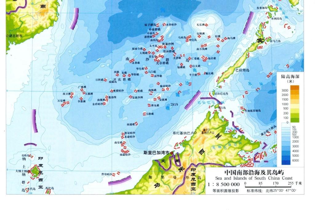 我图网提供精品流行中国南海地图高清版大图素材下载,作品模板源文件可以编辑替换,设计作品简介: 中国南海地图高清版大图 位图, RGB格式高清大图, 中国南海地图 南海地图 中沙群岛 南沙群岛