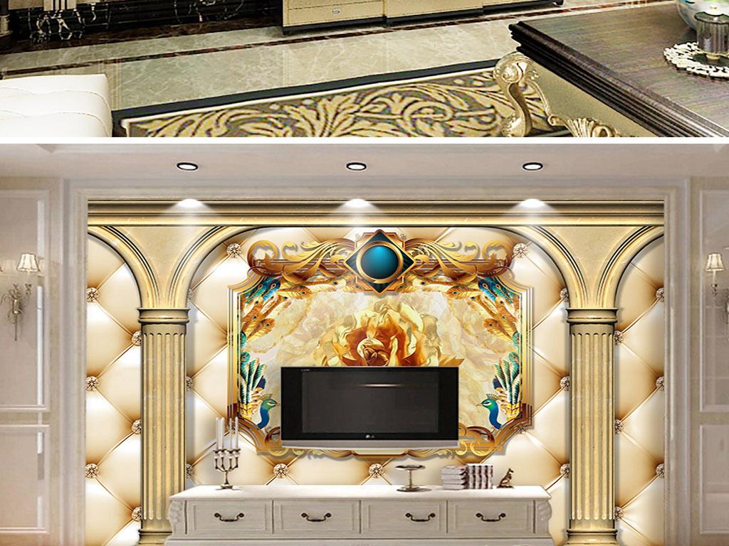 欧式珠宝展柜模型