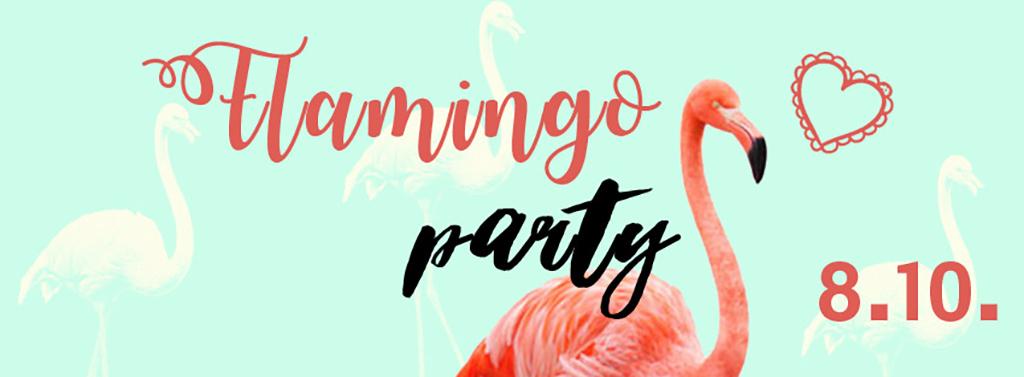设计作品简介: 手绘文艺火烈鸟餐厅聚会活动字体创意海报 位图, cmyk