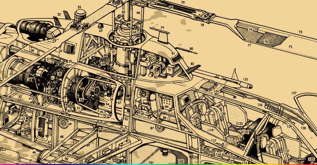 设计作品简介: 手绘怀旧复古飞机图纸工业风酒吧ktv