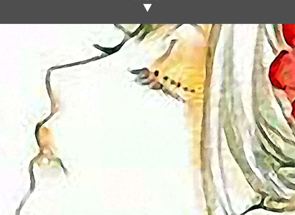 花神的堕落现代清新手绘水彩室内家居装饰画