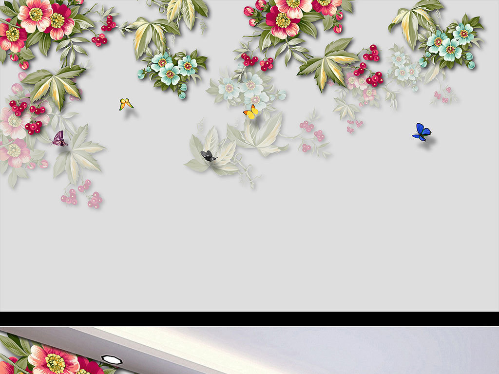 蝶恋花手绘图