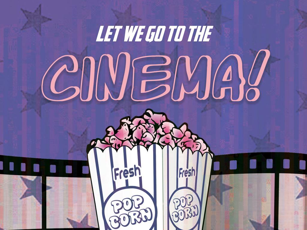 平面|广告设计 海报设计 pop海报 > 怀旧文艺手绘电影院开业促销活动