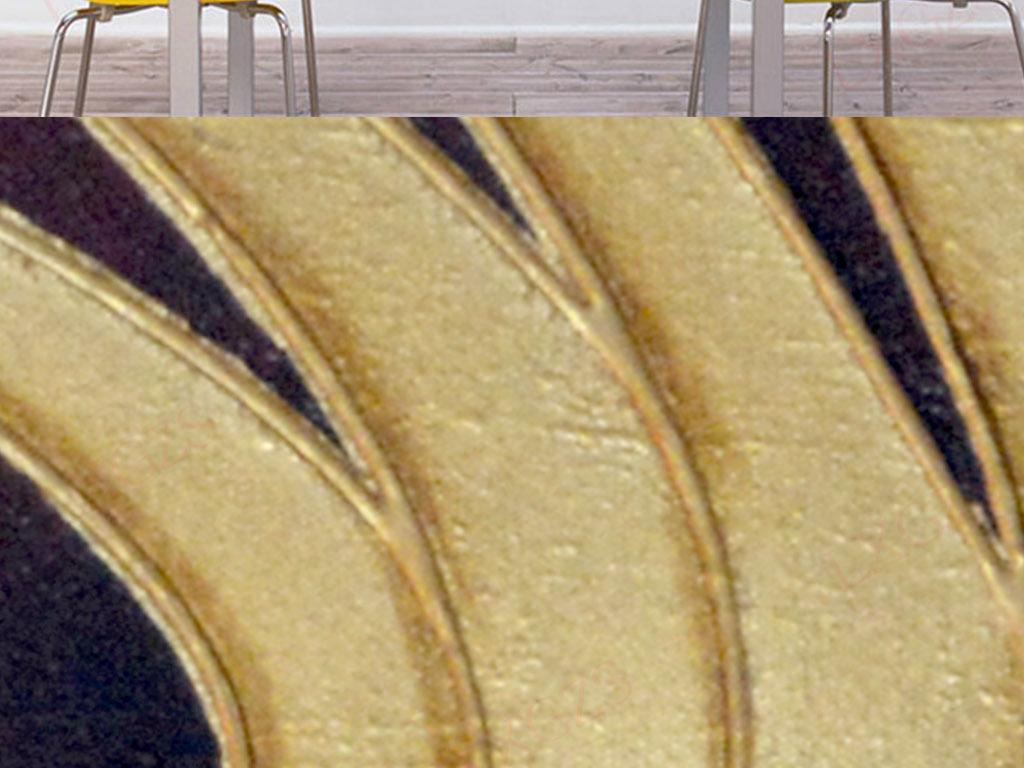 莲花绘画美术花卉手绘高清高清三联佛手手绘佛室内装饰画人物装饰画