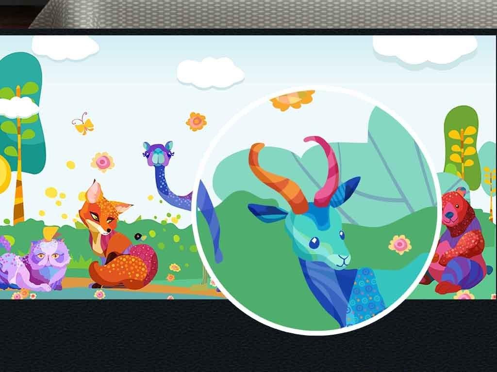 我图网提供精品流行树林里的小动物花朵蝴蝶小鸟儿童房背景墙素材下载,作品模板源文件可以编辑替换,设计作品简介: 树林里的小动物花朵蝴蝶小鸟儿童房背景墙 位图, RGB格式高清大图,使用软件为 Photoshop CC(.psd) 树林里的小动物儿童房背景墙图片下载