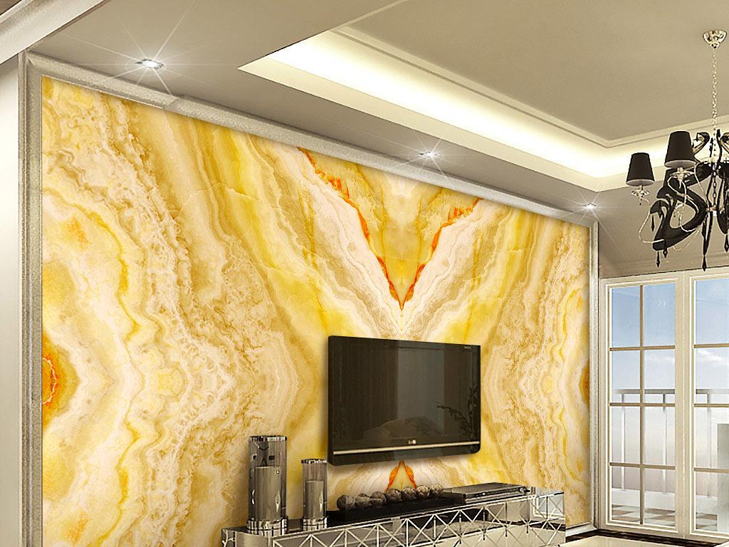 欧式皇家风格大理石纹拼花石材石纹背景墙