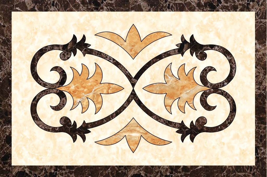 大理石拼花瓷砖刺绣石材欧式拼花方形地面拼花地拼花瓷砖拼花拼花地砖图片