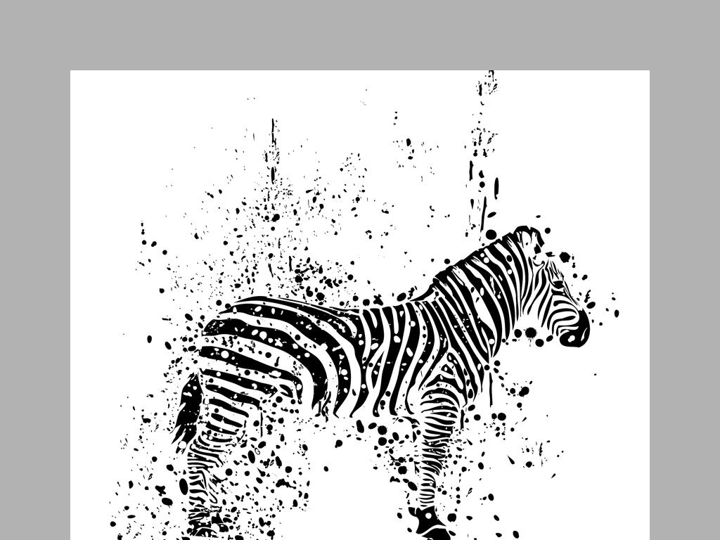 我图网提供精品流行现代简约黑白抽象动物剪影四联画素材下载,作品模板源文件可以编辑替换,设计作品简介: 现代简约黑白抽象动物剪影四联画 位图, RGB格式高清大图,使用软件为 Photoshop CS5(.psd)
