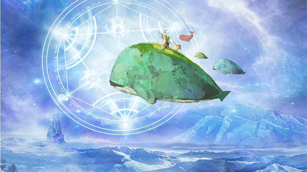 梦幻童话世界儿童电视背景墙