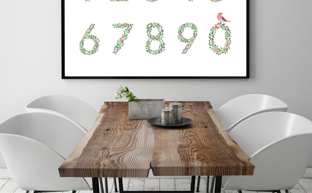 北欧风格装饰画客厅卧室现代简约装饰画图片