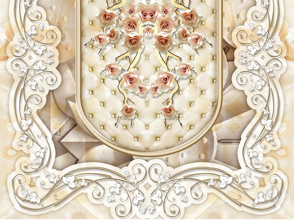 花地板影楼地板大理石拼花石纹拼化花别墅地板欧式风格地板欧式花纹图片