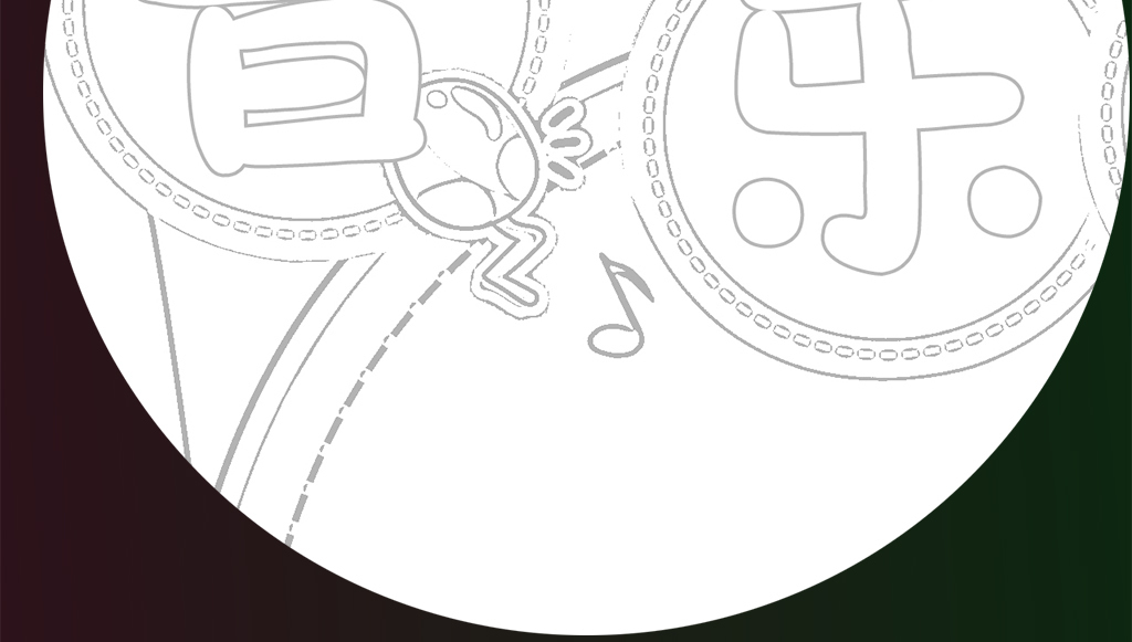 设计作品简介: 五彩缤纷乐曲音乐手抄报小报 位图, cmyk格式高清大图