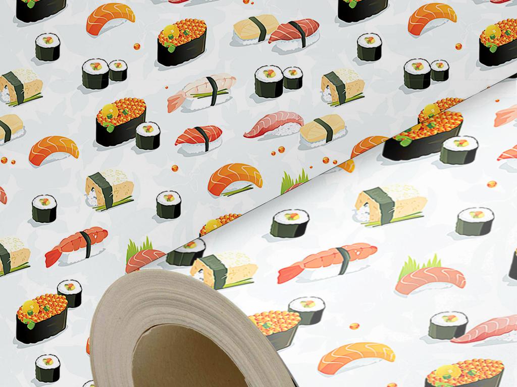 沙发背景墙壁纸日本料理墙纸料理店