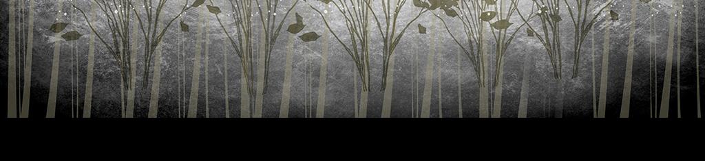 黑白灰色系风景背景手绘背景风景背景墙手绘简约灰色背景灰色手绘风景