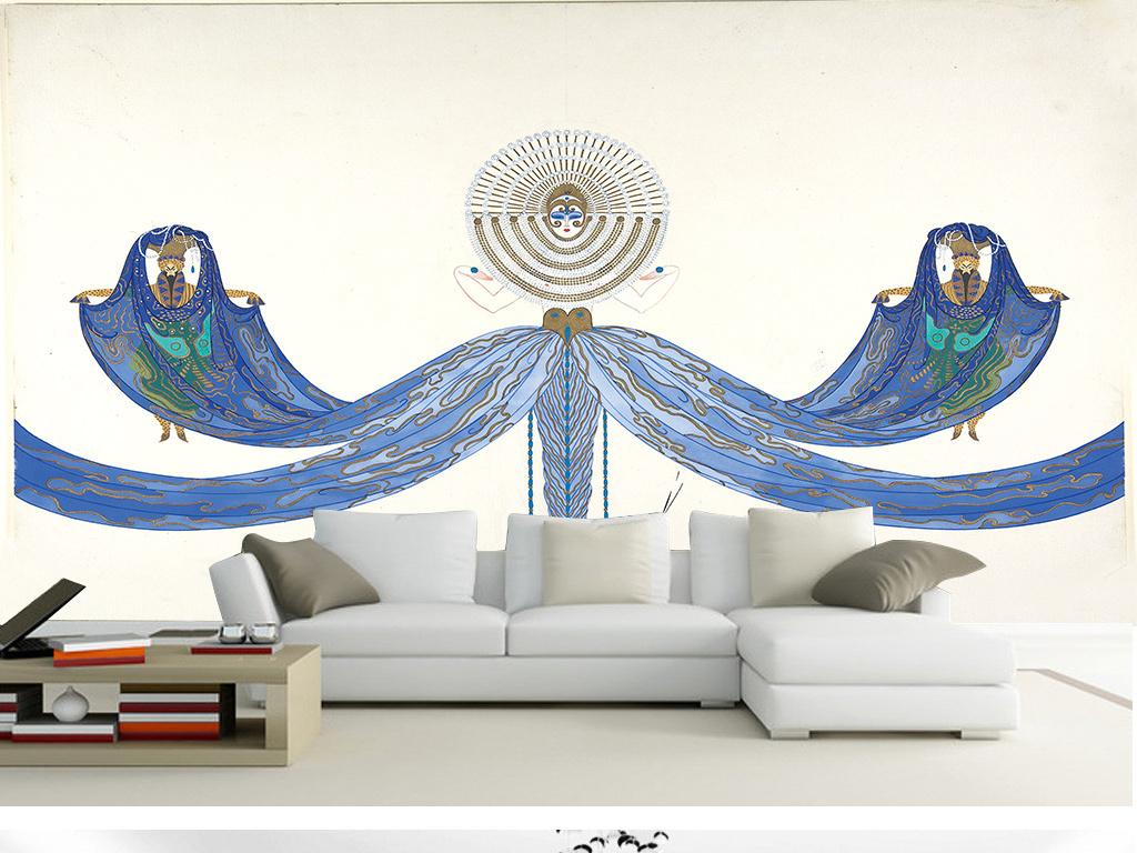 欧式舞蹈房吊顶设计图