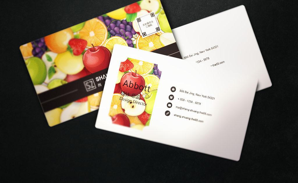 我图网提供精品流行个性水果店名片设计素材下载,作品模板源文件可以编辑替换,设计作品简介: 个性水果店名片设计 矢量图, CMYK格式高清大图,使用软件为 Illustrator CS5(.ai) 水果名片 水果 名片 水果店名片 水果批发 水果卡片 水果超市名片 果园名片 果汁名片 水果疏果名片 进品水果名片 水果名片设计 水果名片素材 水果名片模板 水果名片 名片设计 个性 水果店 个性名片设计
