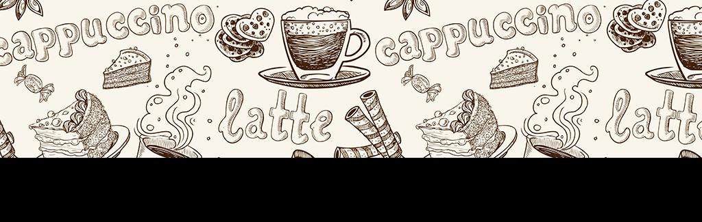 手绘咖啡甜点咖啡杯咖啡海报咖啡背景咖啡包装喝咖啡休闲咖啡杯子咖啡