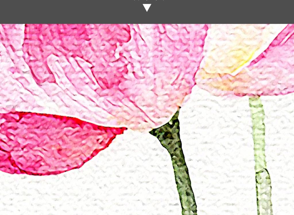 荷花清香新中式现代手绘水彩画莲花装饰画
