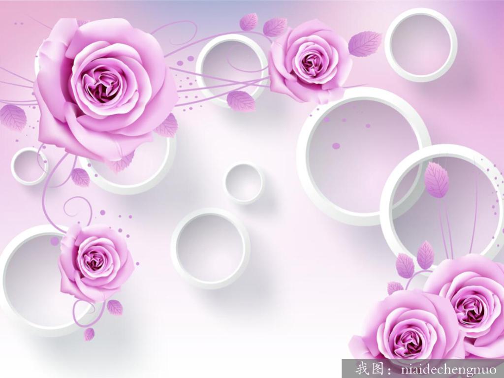 3d玫瑰花(图片编号:15811722)
