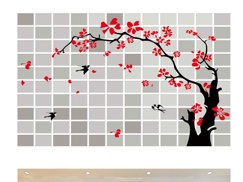 梅树                                  手绘