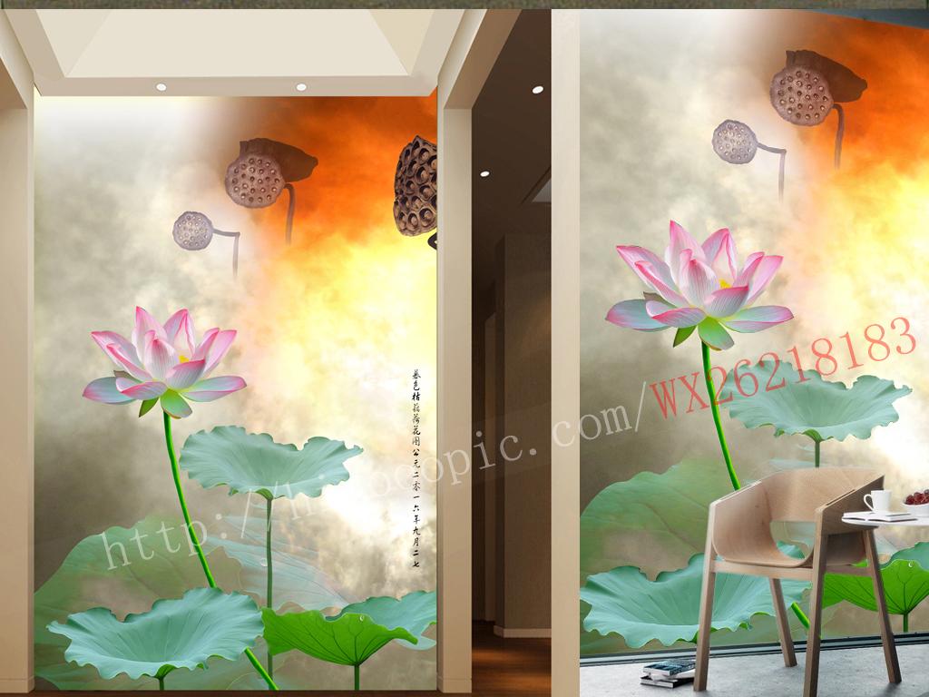 画牡丹手绘花鸟卡通手绘荷花图片荷花手绘手绘墙荷花荷花手绘墙手绘
