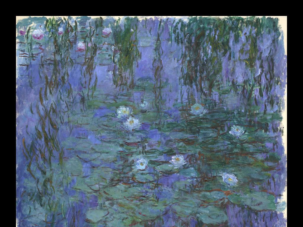 欧式抽象风景油画装饰画