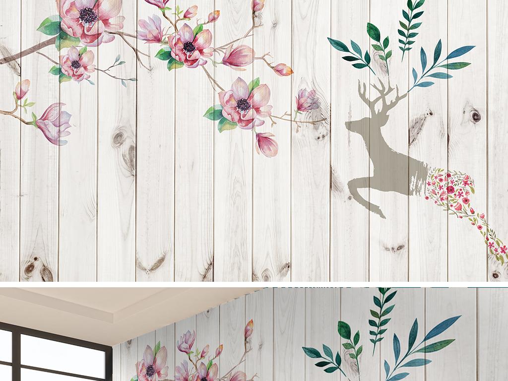 水彩水彩背景玉兰花背景手绘人物手绘背景手绘墙手绘背景墙手绘花鸟