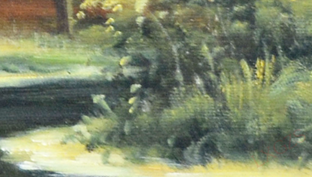 树林欧洲油画风景油画人物油画油画风景手绘油画高清油画油画棒牡丹花