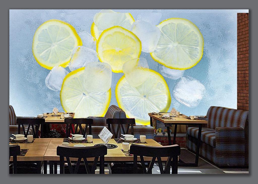 柠檬壁纸手绘高清
