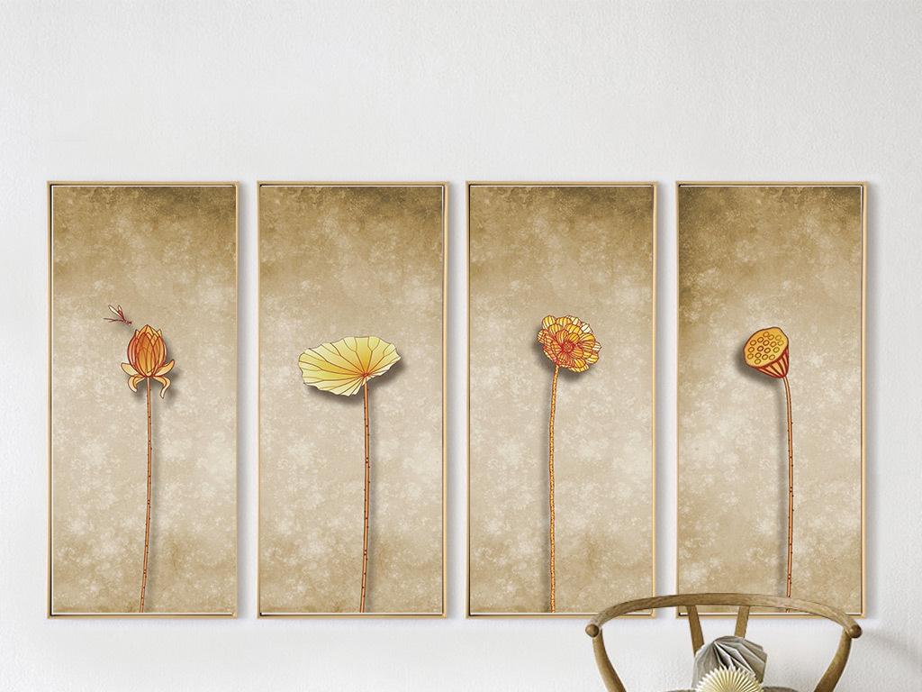 手绘家具单体色彩