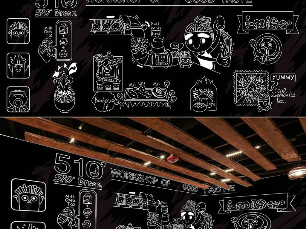 工装背景墙 酒店|餐饮业装饰背景墙