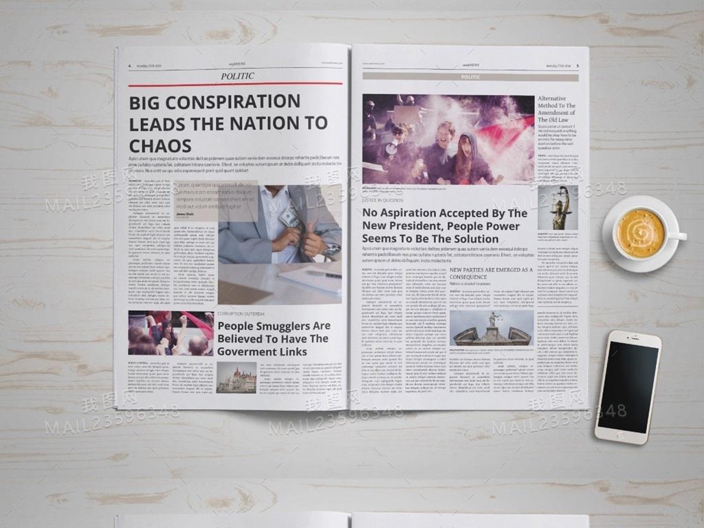 广告内刊内页设计企业文化排版排版模板模板设计版式